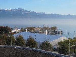 Lausanne Marathon Expo - Tente