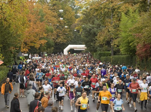 Lausanne marathon 2009