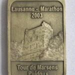 Médaille 2003