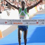 Sammy Kibet Rotich (Kenya) remporte le Lausanne Marathon 2006