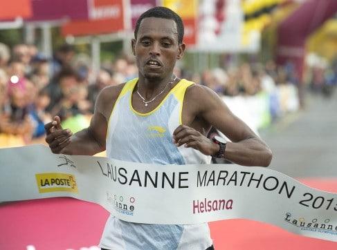 Course des enfants du marathon de Lausanne 2015